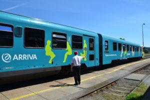 ARRIVA vlaky, jednotka 845, zdroj: Arriva