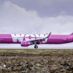 Airbus A321 společnosti Wow Air. Foto: Wow Air