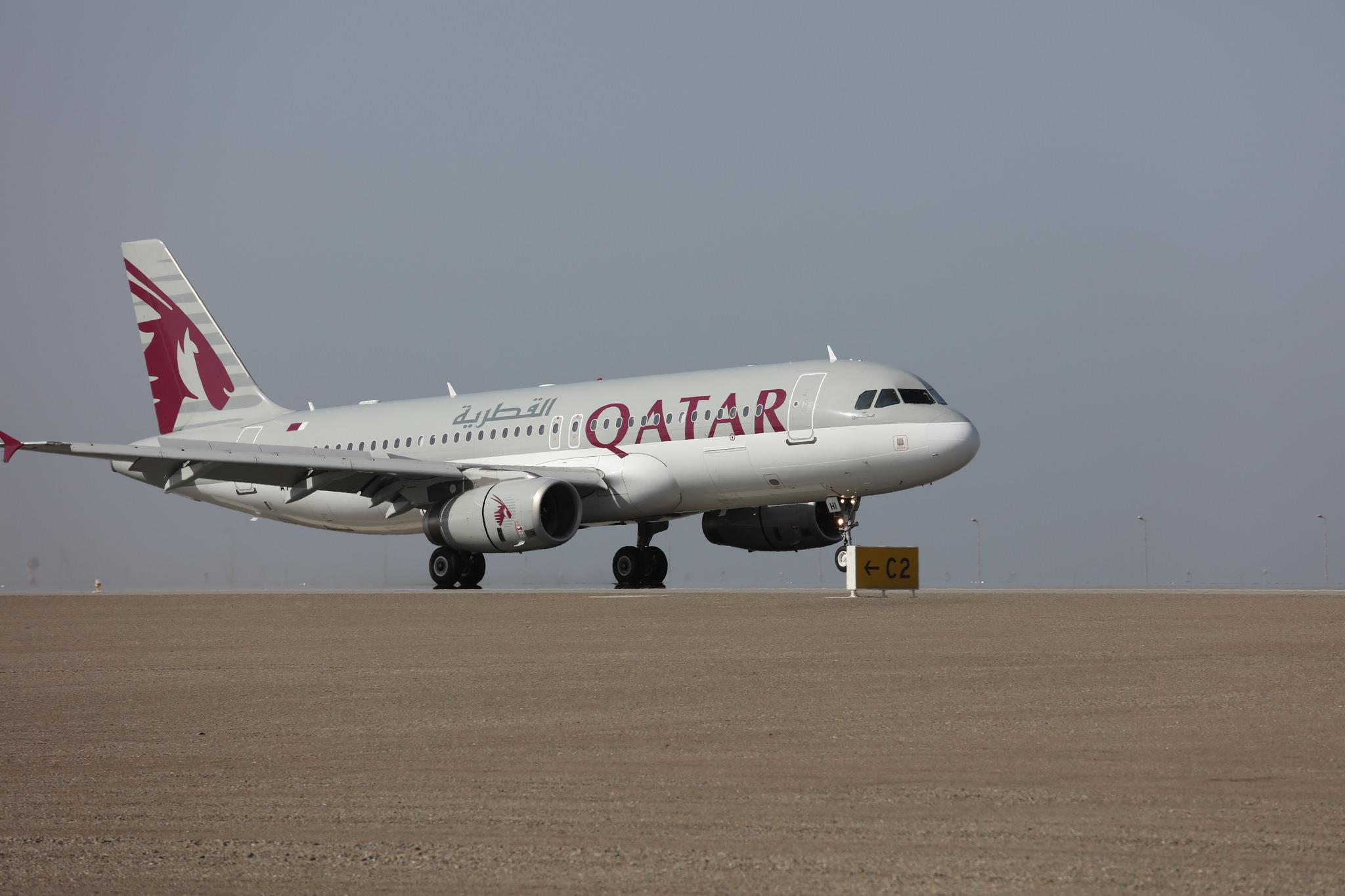 Airbus A320 společnosti Qatar Airways. Foto: Qatar Airways