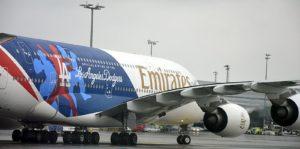 Emirates patří k největším zákazníkům Řízení letového provozu. Přes Česko míří velká část letů mezi Dubají a Evropou. Foto: Jan Sůra
