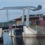 Zdvihací most nad vjezdem do českobudějovického přístavu České Vrbné Autor: Zdopravy.cz