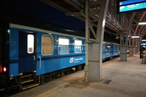 Vlak alex Praha - Mnichov, Praha hl.n., foto: Zdopravy.cz/Jan Sůra