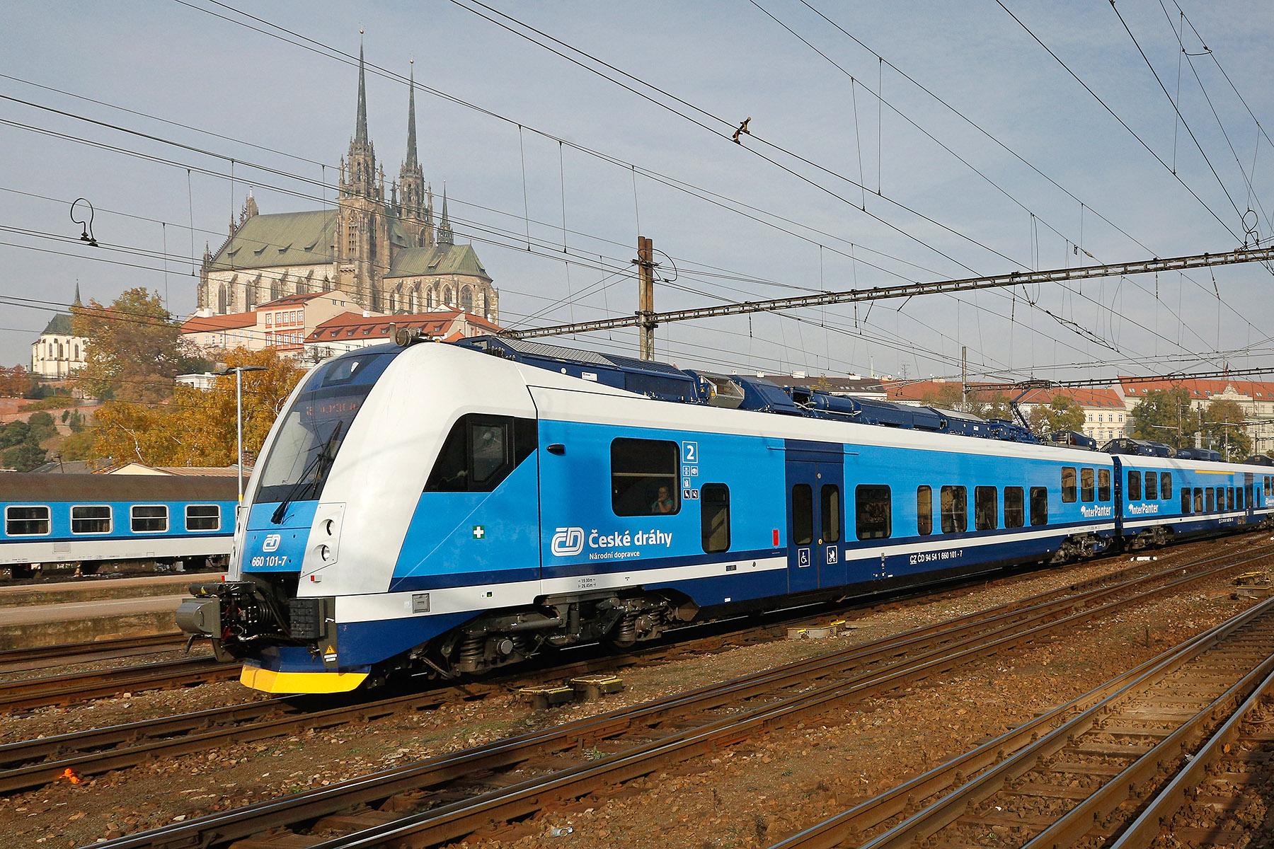 InterPanter, Brno hlavní nádraží, foto: České dráhy