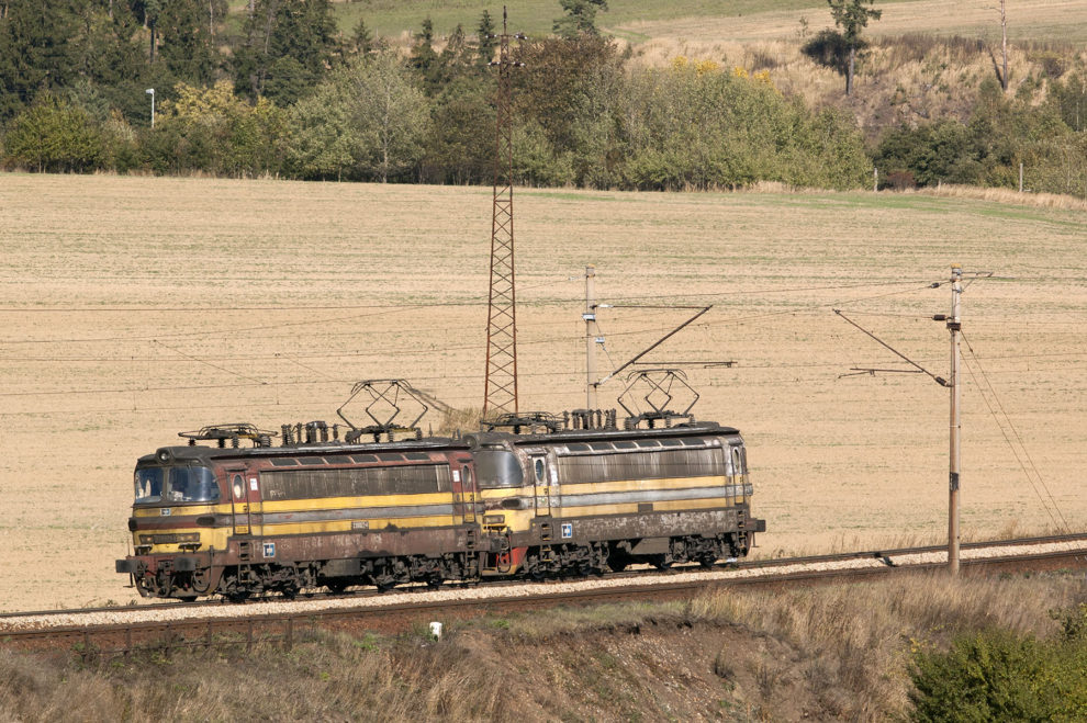 ČD Cargo, postrhkové lokomotivy 230, foto: Zdopravy.cz/Josef Petrák