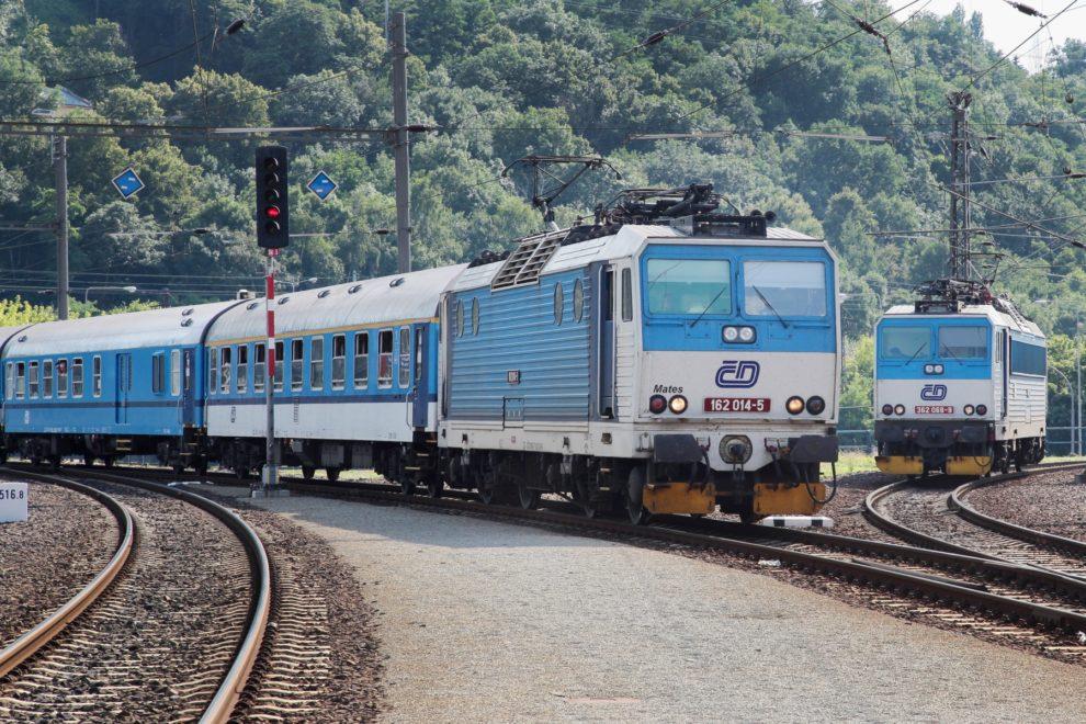 Lokomotiva 162 ČD, Ústí nad Labem, zdroj: České dráhy