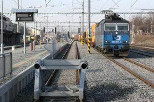 Vlak ČD Cargo, Praha-Hostivař, foto: Zdopravy.cz/Josef Petrák