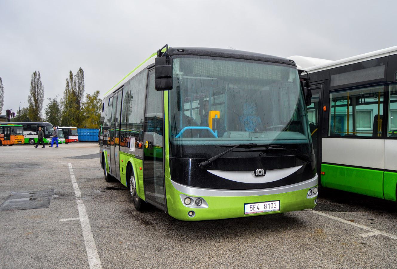 Elektrobus SOR EBN 8 pro MHD Hranice, foto: 3ČSAD