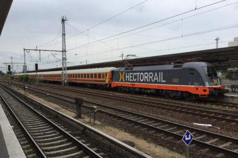 Souprava LEO Express Locomore, Berlin-Lichtenberg, foto: Zdopravy.cz