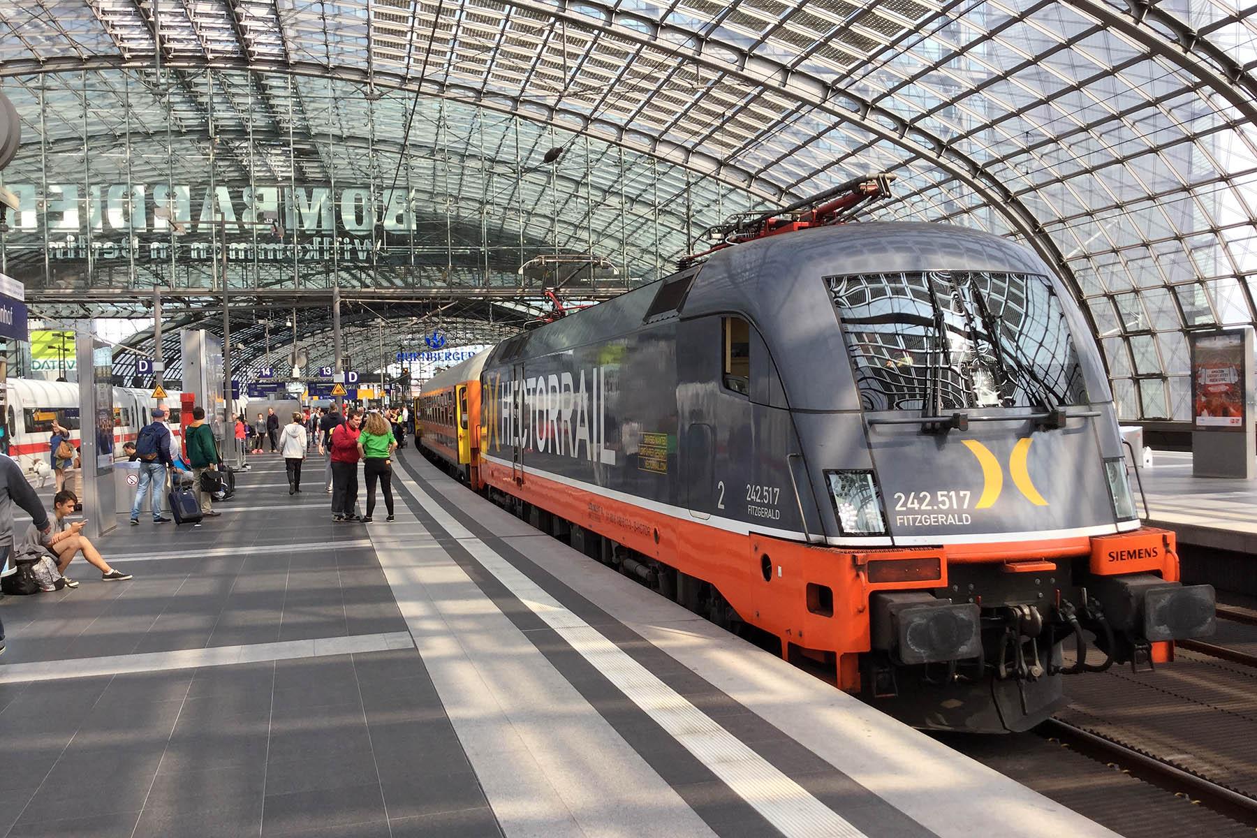 Souprava LEO Express Locomore, Berlin Hbf, foto: Zdopravy.cz