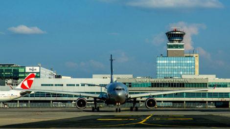 Aeroflot a ČSA na pražském letišti, foto: Letiště Praha