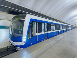 Metro Něva pro Petrohrad, foto: Škoda Transportation
