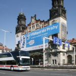 Praha hl.n., Fantova budova, DB IC Bus, foto: České dráhy