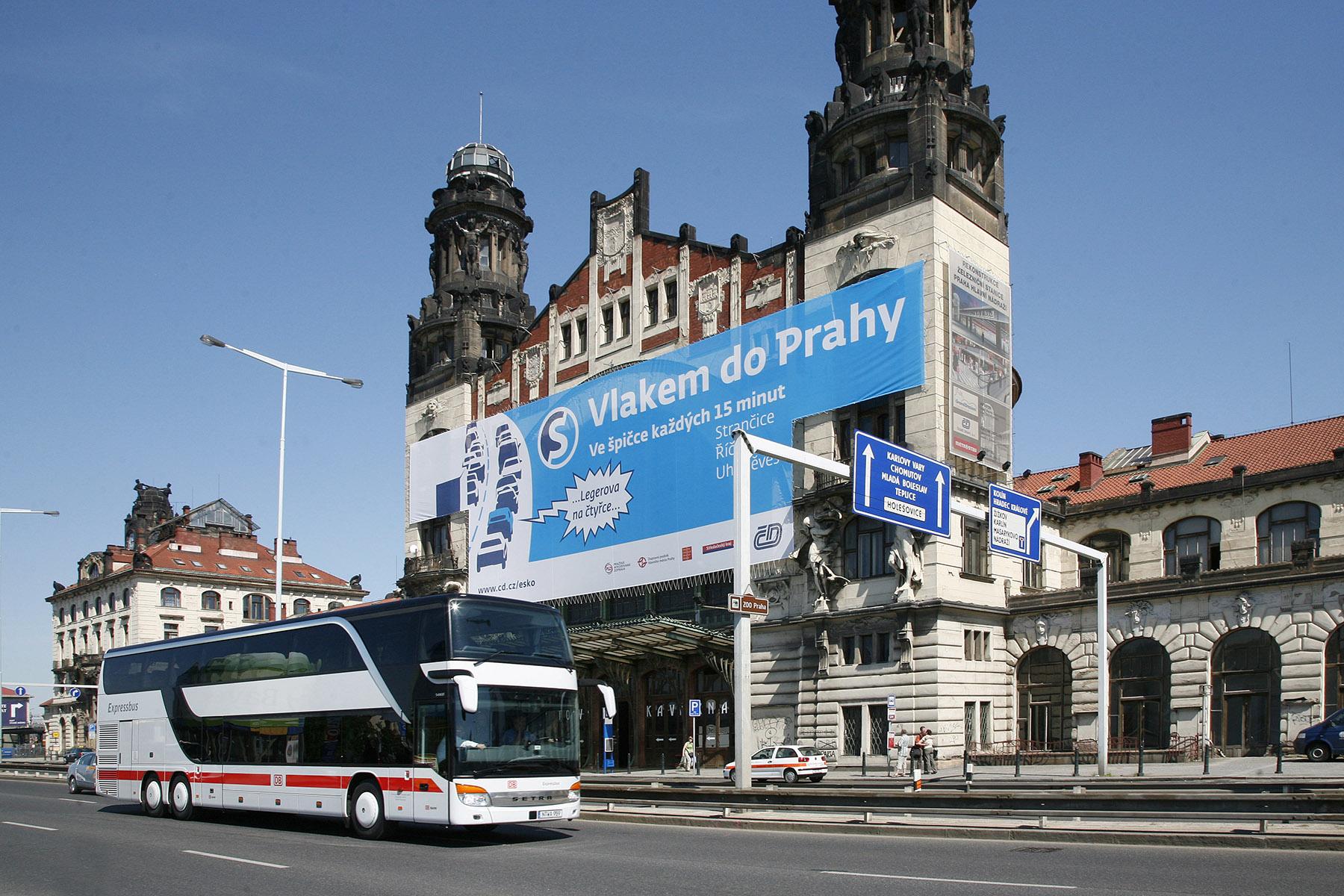 Praha hl.n., Fantova budova před rekonstrukcí. Foto: České dráhy