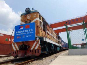 Vlak z Česka do Číny, zdroj: Železniční magazín