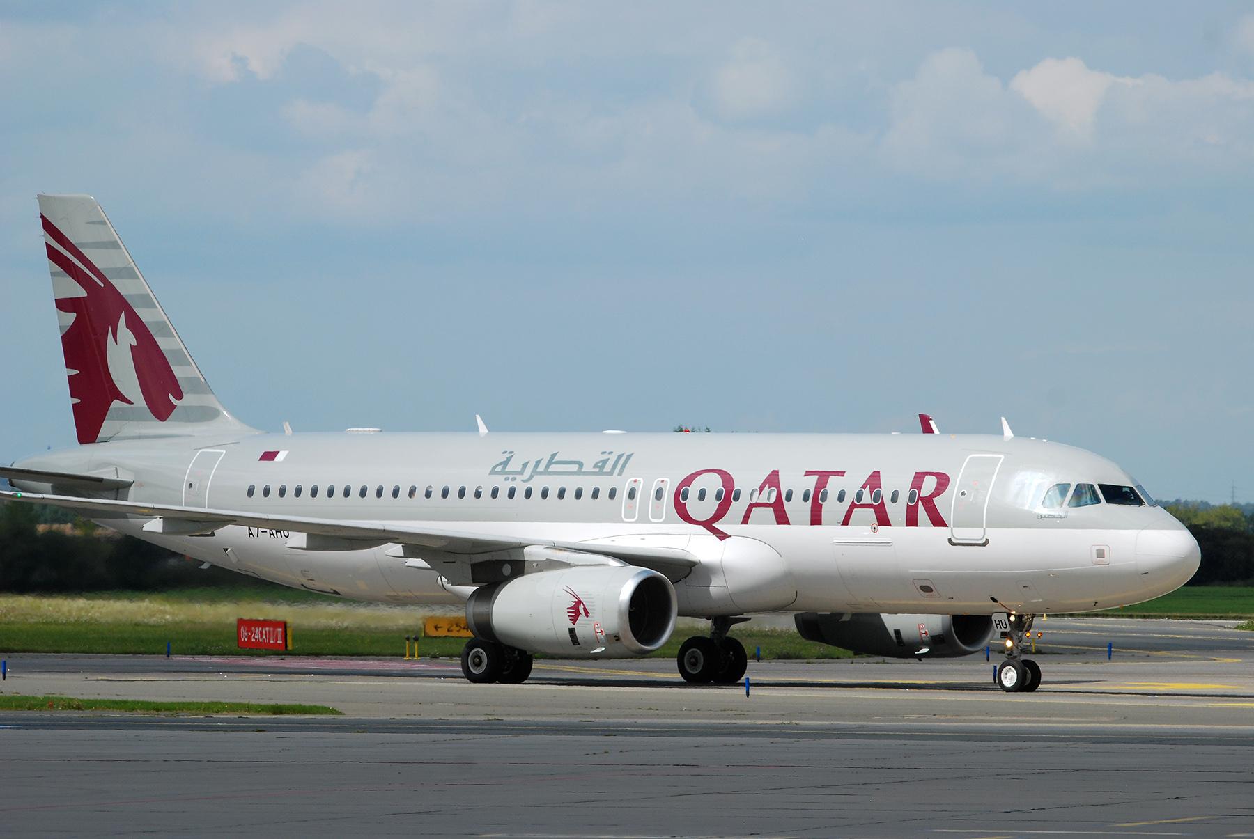 Let QR291 Qatar Airways Doha – Praha poprvé přistál v Praze, foto: Zdopravy.cz/Josef Petrák