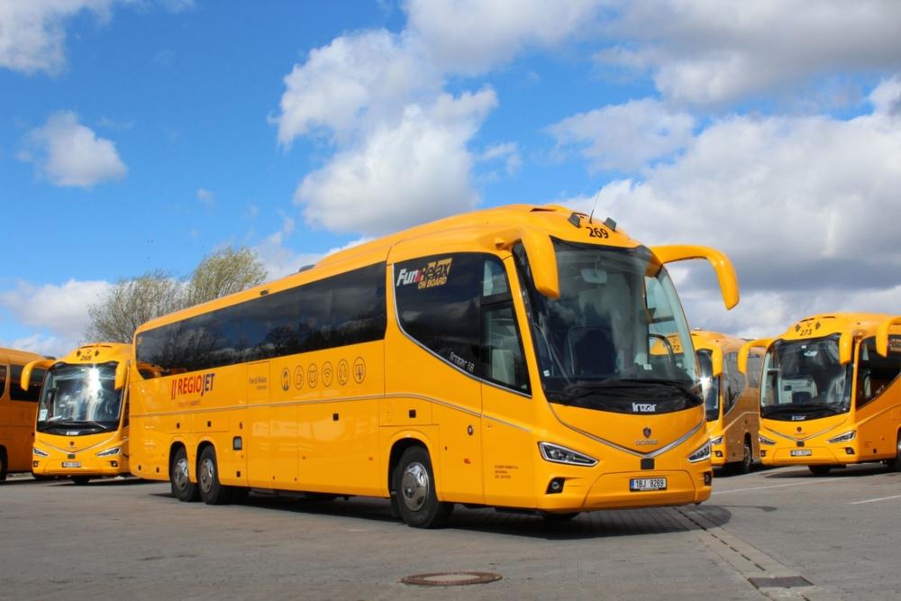 Scania Irizar i8 RegioJet, foto: Student Agency