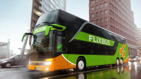 Setra Dosto, Berlin Potzdamerplatz, foto: Flixbus