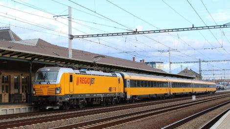 Siemens Vectron, InterCity na Slovensku, foto: RegioJet