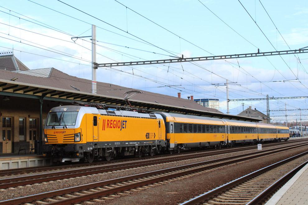 Siemens Vectron. Foto: RegioJet