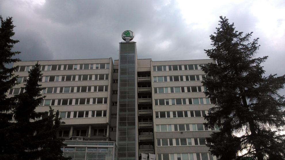 Budova Škoda Auto, foto: Zdopravy.cz/Jan Sůra