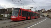 Tramvaj Škoda ForCity Plus, Bratislava, foto: Zdopravy.cz/Josef Petrák