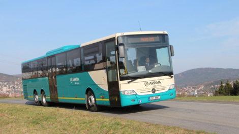 Autobus Mercedes v barvách dopravce Arriva. Foto: Arriva