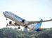 Boieng 737 MAX 8 společnosti flydubai na prvním letu. Foto: Boeing