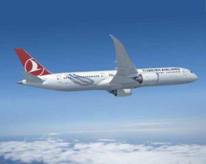 Boeing 787-9 v barvách Turkish Airlines. Foto: Boeing