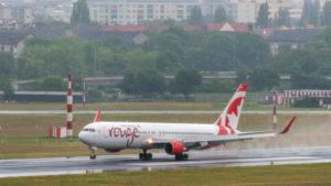 Air Canada Rouge na letišti Berlin Tegel. Foto: www.berlin-airport.de