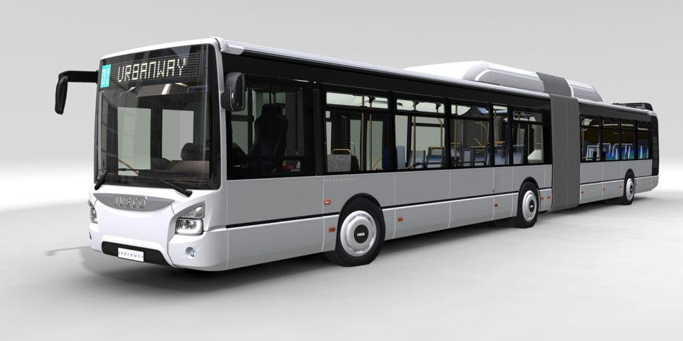 Autobus Iveco Urbanway na CNG. Foto: Iveco