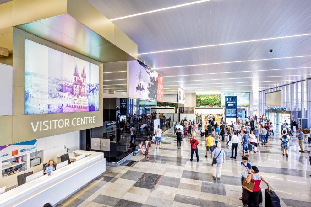 Návštěvnické centrum v Terminálu 1. Autor: Letiště Praha