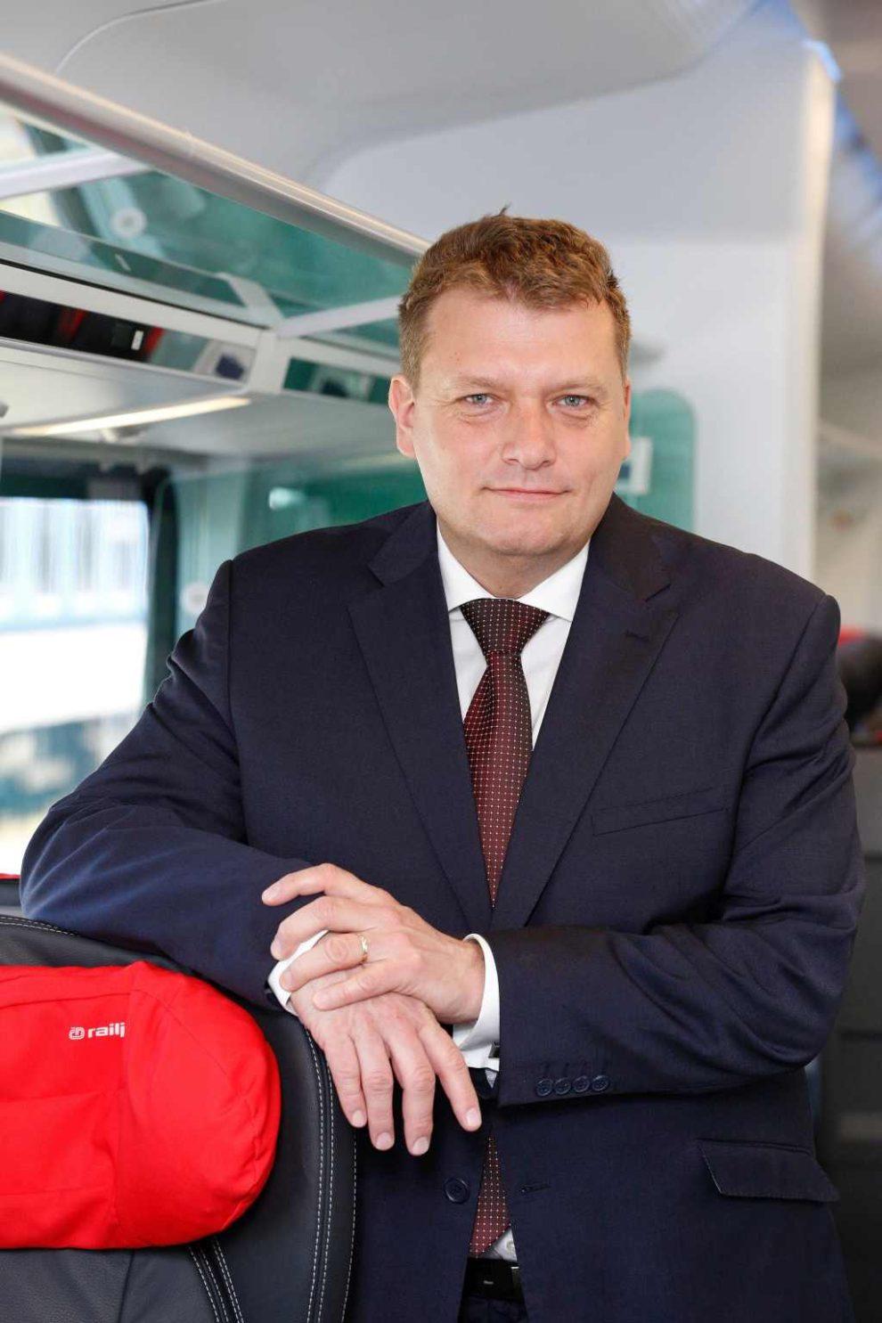 Bývalý předseda představenstva Českých drah Pavel Krtek. Foto: České dráhy
