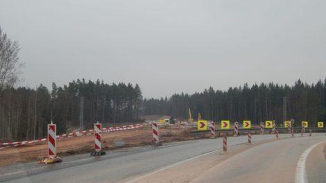 Stavba D3 u Českých Budějovic zhruba před rokem. Autor: Zdopravy.cz/Jan Šindelář