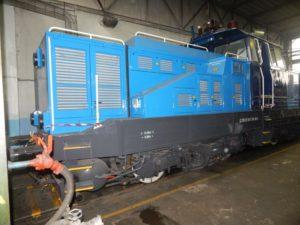 Hybridní posunovací lokomotiva