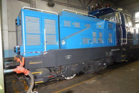 """Hybridní posunovací lokomotiva """"Kobeko"""", řada 218. Autor: Zdopravy.cz/Jan Šindelář"""