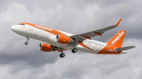 Airbus A320 společnosti easyJet. Foto: easyJet
