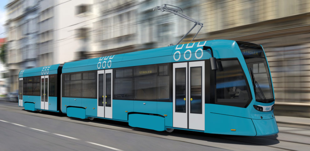 Tramvaj Tango NF2 Ostrava, foto: Stadler