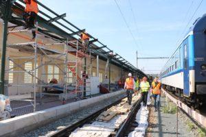 Poslední dny výluky na brněnském hlavním nádraží. Foto: ministerstvo dopravy.