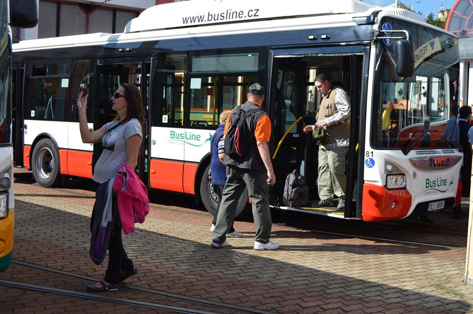 Autobus MHD společnosti Busline. Foto: Busline
