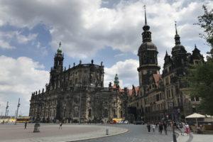 Historické centrum Drážďan, foto: Zdopravy.cz/Josef Petrák
