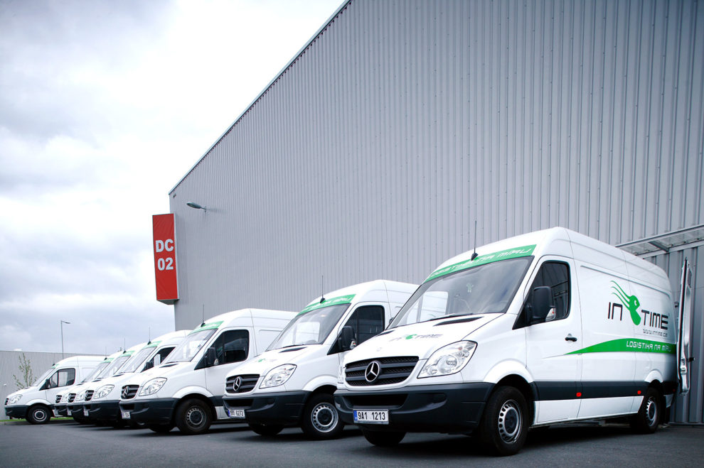 Dodávky Mercedes, foto: IN TIME