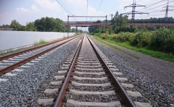 Koridorová trať na Ostravsku. Foto: SŽDC