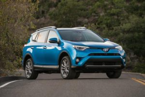 Toyota RAV4 s hybridním pohonem. Foto: Toyota