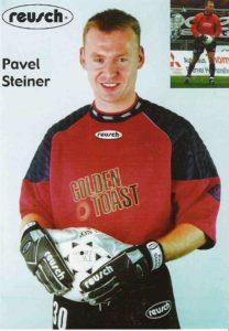 Pavel Steiner v dobách, kdy se profesionálně věnoval fotbalu. Foto: archiv