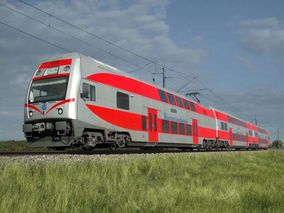 Jednotka EJ 575 pro Litevské dráhy. Autor: Škoda TTransportatiion