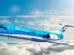 Letadlo Fokker 70 v barvách KLM. Foto: KLM