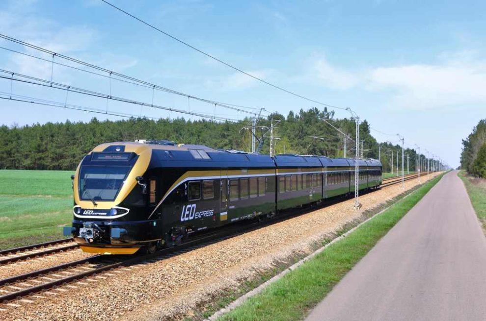Jednotka Stadler Flirt dopravce Leo Express. Foto: Leo Express