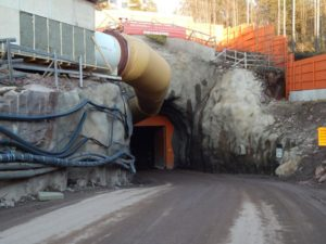 Stavba metra v Helsinkách. Autor: Jan Šindelář