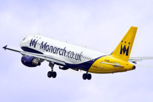 Airbus A320 společnosti Monarch Airlines. Foto: Monarch Airlines