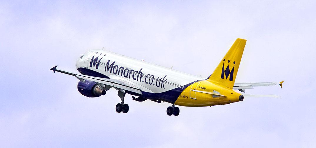 Airbus A320 společnosti Monarch Airlines. Foto: Monarch Airlines
